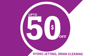 Hydro Jetting Special 50 dollars OFF