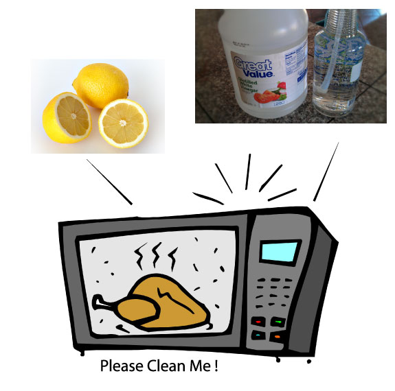 What To Use To Clean Microwave Oven: How To Clean A Microwave Oven